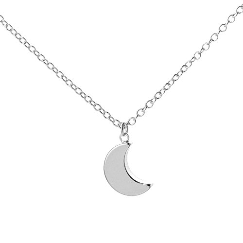 senfai-new-classic-simple-necklaces-pendants-crescent-moon-necklace-plain-half-moon-pendant-necklace