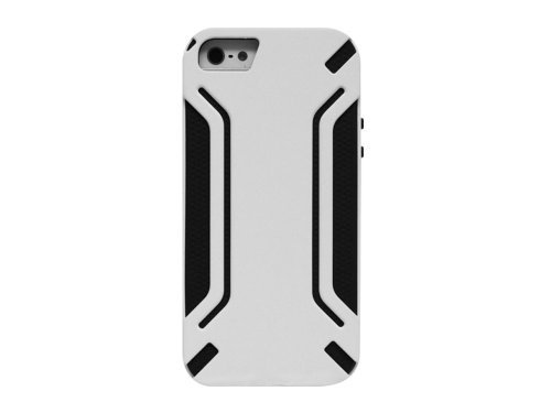 Cellet Armor Guard Case for Apple iPhone 5 - White/Black (Iphone5 Jelly Case compare prices)