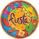 Western Fiesta 7 In. Dessert Plate by KidsPartyWorld.com - 1