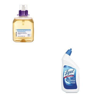 KITBWK8300RAC74278CT - Value Kit - Boardwalk Foam Antibacterial Handwash (BWK8300) and Professional LYSOL Brand Disinfectant Toilet Bowl Cleaner (RAC74278CT)