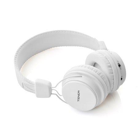 [Tenqa] REMXD Wireless Bluetooth Headphones テンカ ワイヤレス REMXD ヘッドホン DJ Style Wireless Headphones - White