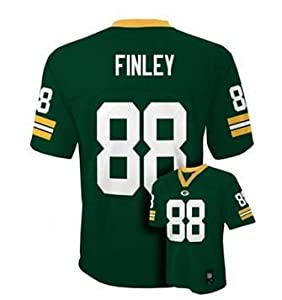 Jermichael Finley Green Bay Packers NFL Youth Size Jersey Green by OuterStuff