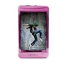 Riptunes MP2128P 8GB 2.8-Inch Touch Screen MP3 and Video Player (Pink)