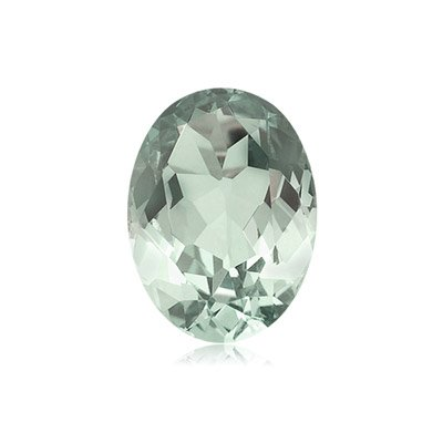 1.55-1.80 Cts of 9x7 mm AA Oval Green Amethyst