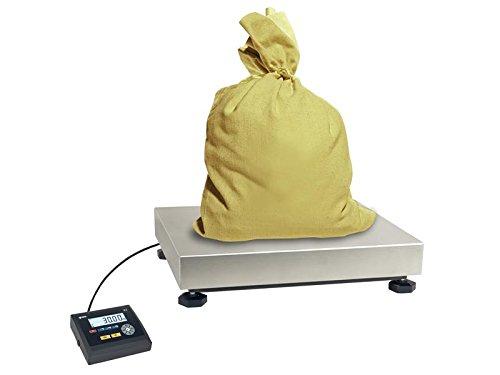 Balance plate-forme PRO pèse-colis industrie boulangers etc 400 x 300 mm - capacité : 60kg lecture à 10g