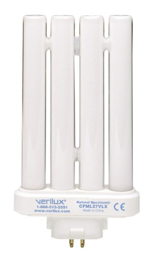 verilux CFML27VLX Natural Spectrum Replacement Bulb, 27 Watts