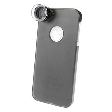 20X Optical Microscope Lens With Ultraslim Matte Pc Hard Case For Iphone 5 #00716646