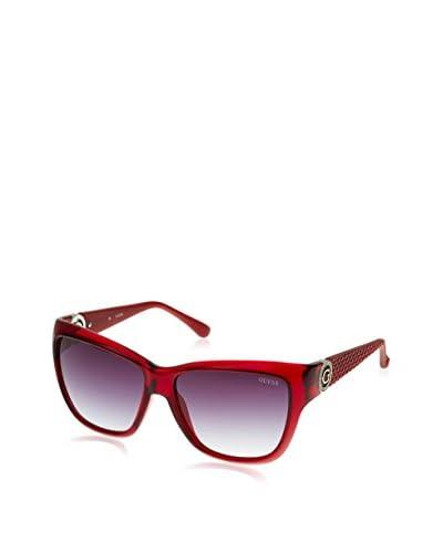 Guess Gafas de Sol GU7374 (57 mm) Rojo Oscuro
