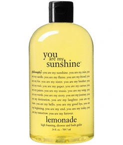 philosophy - you are my sunshine - lemonade scented, high foaming, shower and bath gelee