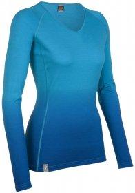 Icebreaker Damen Unterhemd BF200 Oasis V Dusk by Icebreaker