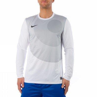 Nike Long Sleeve Shirt Mens Ls Top White