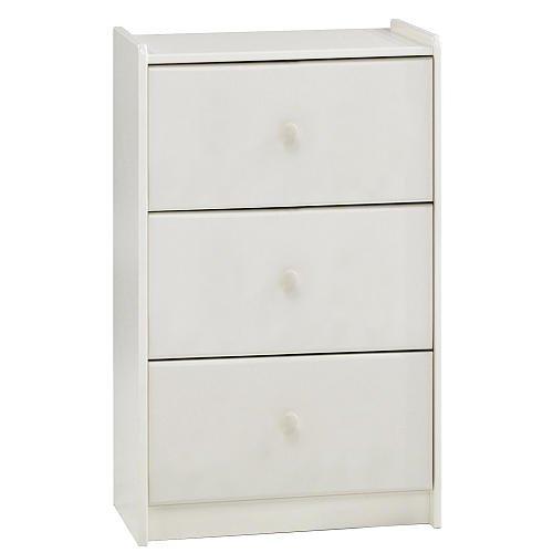Popsicle 3 Drawer Dresser - White front-673543