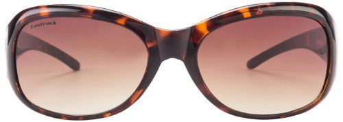Fastrack Oval Sunglasses (Tortoise Brown) (P186BR1F)
