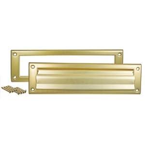 Mailbox slot for door