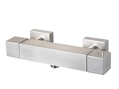 Duscharmatur mit Thermostat, Serie Mezzo chrom, metallisch, 1119843