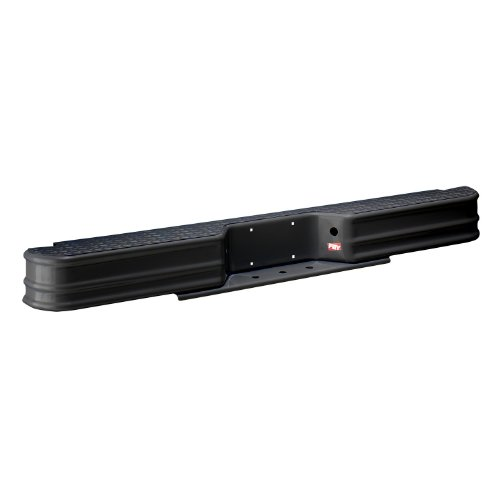 Fey 63000 DiamondStep Universal Black Replacement Rear Bumper (Requires Fey vehicle specific mounting kit sold separately)