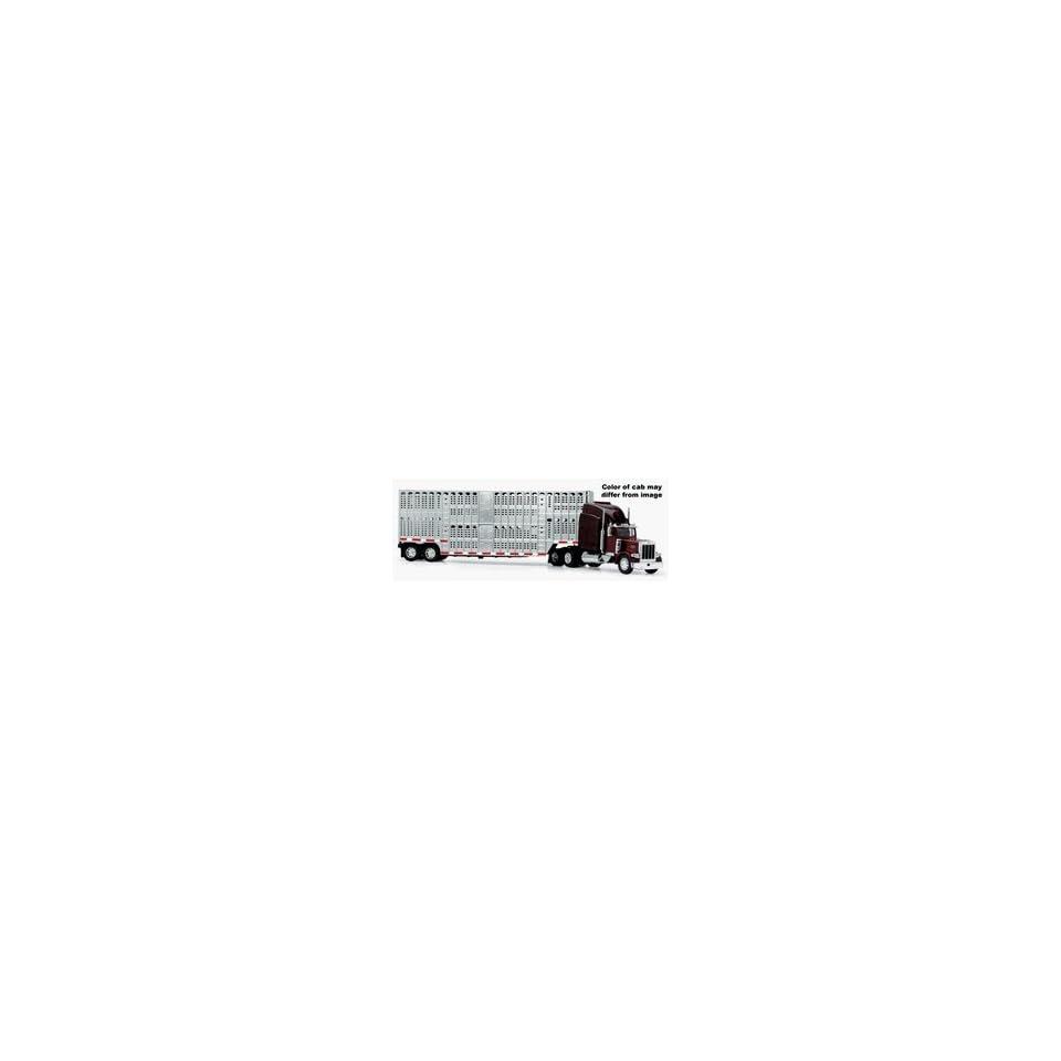 New Ray 132 Dodge RAM 3500 Black w/Trailer   New Ray NR10923