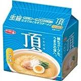 サンヨー食品 サッポロ一番 頂 しお味 袋めん 1ケース(30食)(5P入×6袋)