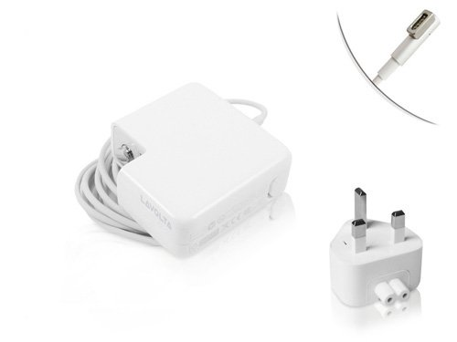 60W AC Adapter Charger for Apple MacBook Pro 13-inch (Pro, Air, Unibody) Laptop Power Supply fits Magsafe A1330 MC461LL/A - New LED L-shape Magnetic Connector - Lavolta®