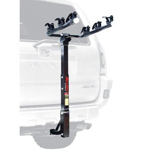 Allen Deluxe 3-bike Hitch Mount Rack 1.25 Or 2-inch Receiver