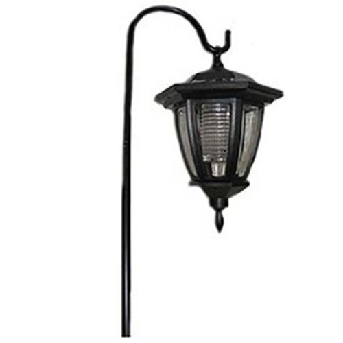 Solar Powered Outdoor Garden Deck Patio Pathway Led Lantern With Sheppard'S Hook