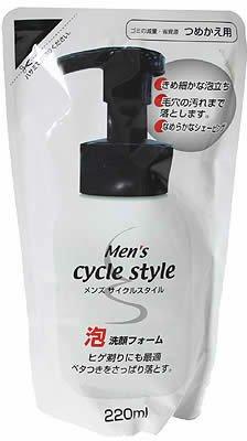サイクルスタイル メンズ泡洗顔F 詰替 220ml