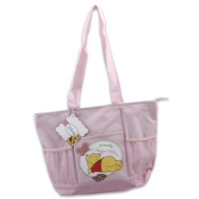 Pooh Pink Color Diaper Bag