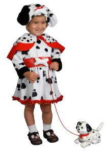 Dalmatian Dress Toddler Halloween Costume Size 4T