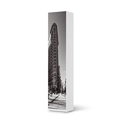 Dekor-Folie-fr-IKEA-Pax-Schrank-236-cm-Hhe-1-Tr-Mbel-Folie-Klebefolie-Sticker-Aufkleber-Mbel-umgestalten-kreativ-einrichten-Schlafzimmer-Mbel-Gestaltungsideen-Design-Motiv-Manhattan