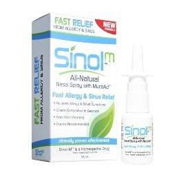 Sinol Fast Allergy & Sinus Relief Nasal Spray, Kids - 15 Ml, 3 Pack