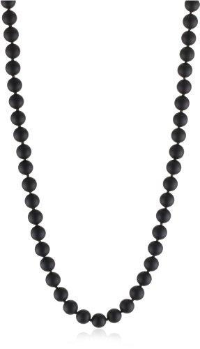 Mizuki 14k Necklace Onyx 14k Charm Starburst Diamond Md. .13Ct