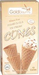 Goldbaum's Gluten Free Sugar Cocoa Ice Cream Cones [Misc.]
