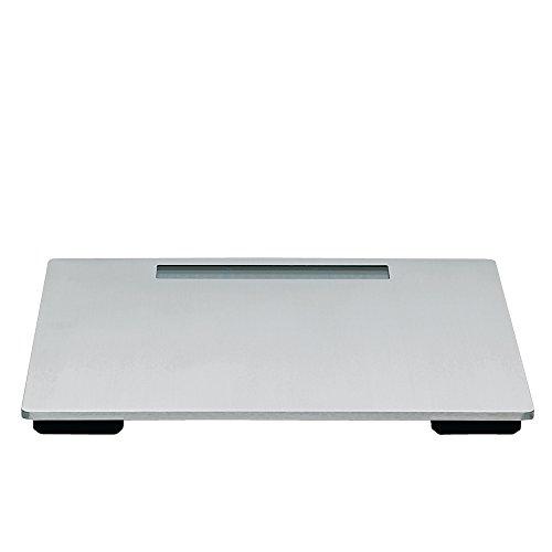 Kela 21835 pèse-personne, acier inoxydable, 31 x 30 x 2,5 cm, 'Silver'