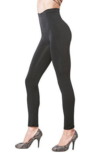 Khaya-Womens-Seamless-High-Waist-Slimming-Compression-Full-Length-Leggings