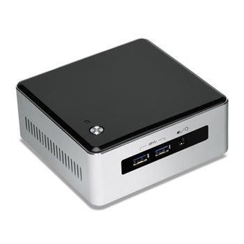 Intel BLKNUC5I3MYHE Barebone PC Argent/Noir