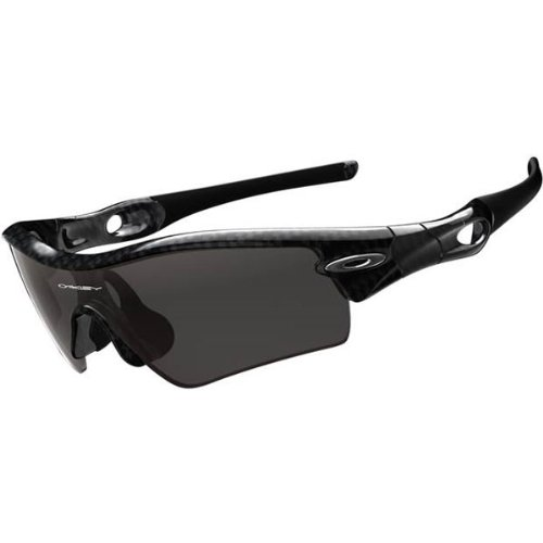 Oakley Radar Path Adult Asian Fit Sport Sportswear Sunglasses/Eyewear - Color: True Carbon Fiber/Slate Iridium, Size: One Size Fits All