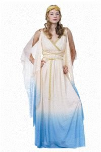 Atlantis Queen Adult Halloween Costume Size Standard (O/S)