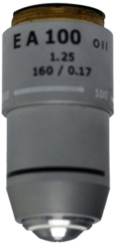 National Optical 799-155 Din 100Xr Objective Lens, 1.25 N.A., For 155 And 210 Compound Microscopes