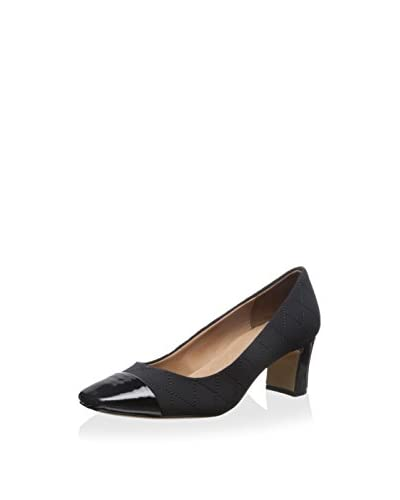 Donald J Pliner Women's Square Toe Chunk Heel Pump