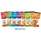 Snack Factory Pretzel Crisps Variety Pack, 7.2-ounce Bags (12 Pack)