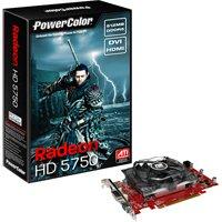 PowerColor ATI Radeon HD5750 512 MB DDR5 VGA/DVI/HDMI PCI-Express Video Card 512MD5-H - Retail