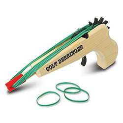 Colt Derringer Rubberband Gun