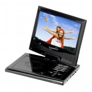 Supersonic Sc179Dvd 9-Inch Portable Dvd Plated With Usb/Sd