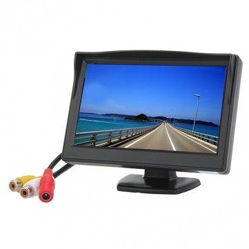 Souked 5 pouces voiture Support Sécurité Ditigal TFT LCD arrière arrière View Monitor
