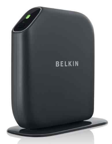 belkin playmax wlan dual band n router schwarz. Black Bedroom Furniture Sets. Home Design Ideas