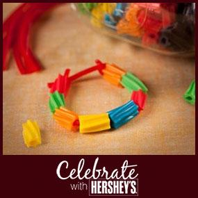 Candy Friendship Bracelet Craft