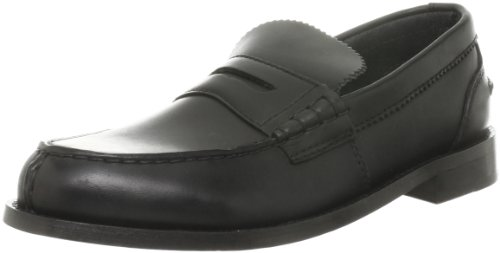 Clarks Beary Loafer 20348634, Mocassini uomo, Nero (Schwarz (Black Leather)), 43