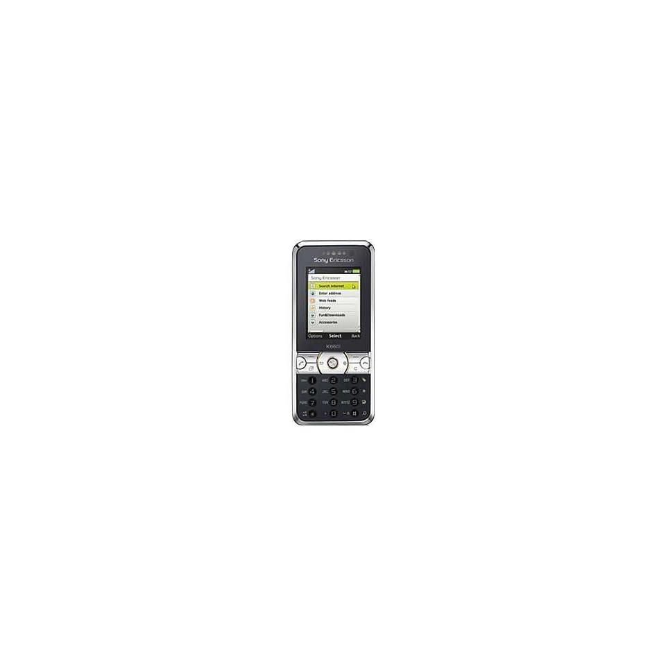 New Sony ericsson K660 Silver on Black Unlocked GSM Phone