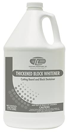 Theochem 100041-7G Thickened Block Whitener Case, Chlorine Scent, 4/1 Gallon (Pack of 4)