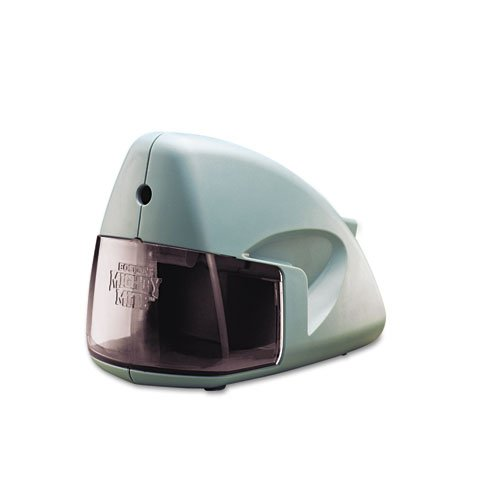 Mighty Might Desktop Electric Pencil Sharpener, Mineral Green